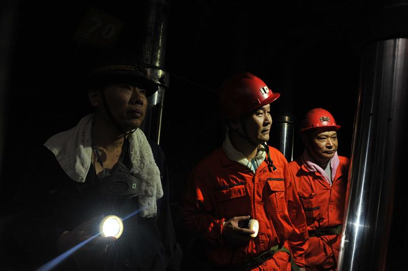 集团公司总经理魏忠勋来矿检查指导安全生产工作